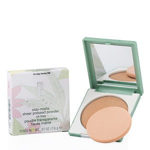 Clinique Stay Matte Sheer Pressed Powder 04 Stay Honey .27 Oz
