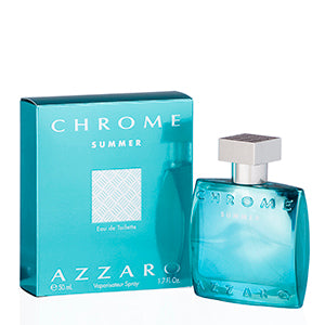 Chrome Summer by Azzaro Edt Spray Limited Edition For Men