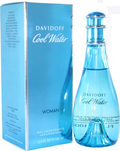 Cool Water Women by Davidoff Edt Deodorant Spray For Women
