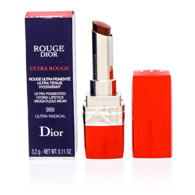 Addict by Christian Dior Lipstick (986) Ultra Racial 0.12 oz