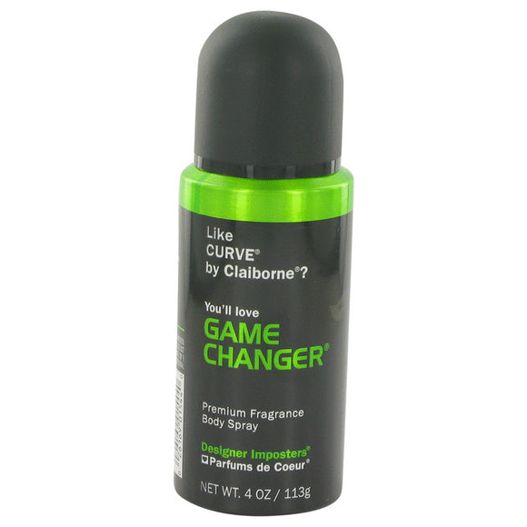 Designer Imposters Game Changer Body Spray By Parfums De Coeur For Men