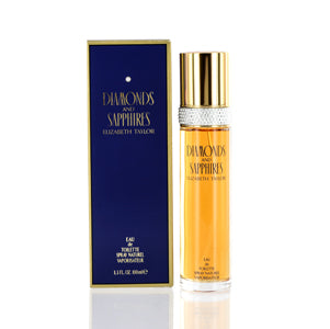 Diamonds & Sapphires by Elizabeth Taylor Edt Spray For Women
