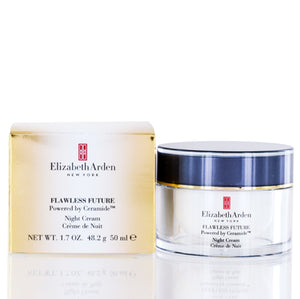 Elizabeth Arden  Flawless Future Powered By Ceramide Night Cream 1.7 oz (50 ml).