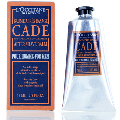 Eau De Cade by L'Occitane After Shave Balm 2.5 oz (75 ml) For Men