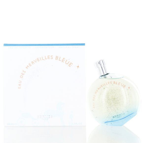 Eau Des Merveilles Bleue by Hermes Edt Spray For Women