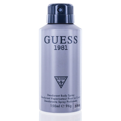 Guess 1981 by Guess Inc. Deodorant & Body Spray 5.0 oz (150 ml) For Men