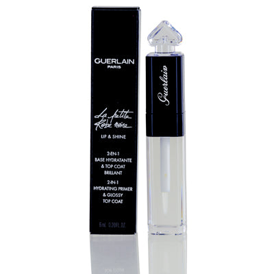 Guerlain La Petite Robe Noire 2-In-1 Hydrating Primer And Glossy Top Coat .20  oz.