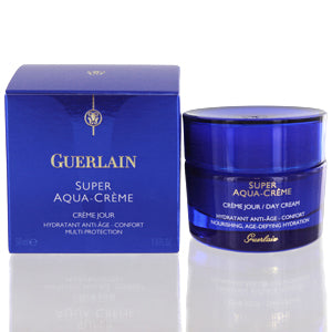 Shop for authentic Guerlain Super Aqua Hydratant Anti Age Multi Protection Cream 1.6 Oz (50 Ml) at Diaries of Paris