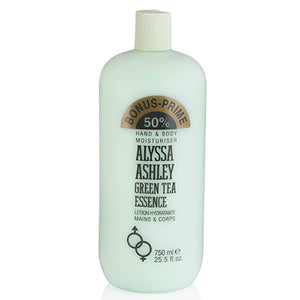 Green Tea Essence by Alyssa Ashley Body Moisturizer Lotion 25.5 oz (750 ml) Unisex