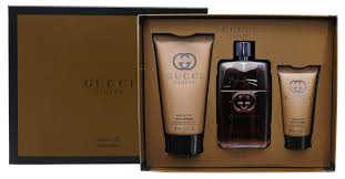 Gucci Guilty Absolute by Gucci 3 Piece Gift Set For Men