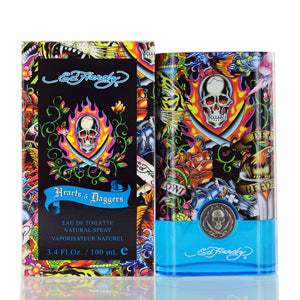 Ed Hardy Hearts & Daggers by Christian Audigier Edt Spray For Men