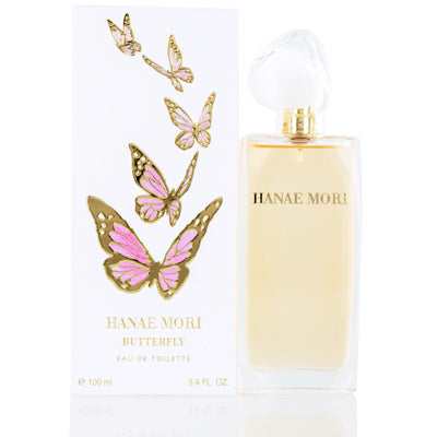 Hanae Mori Butterfly (Pink) by Hanae Mori Edt Spray For Women