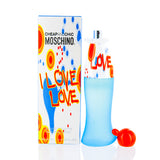 Buy online I Love Love by Moschino Edt Spray For Women at diariesofparis.com