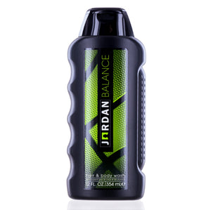 Jordan Balance by Michael Jordan Hair & Body Wash 12.0 oz (360 ml) For Men