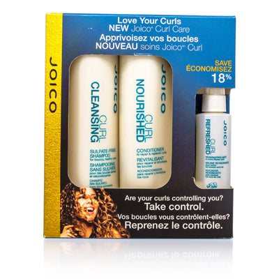 Joico Curl by Joico Take Control Set