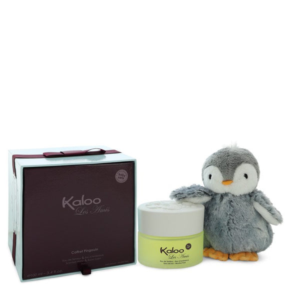 Kaloo Les Amis Alcohol Free Eau D'ambiance Spray + Free Penguin Soft Toy By Kaloo For Men