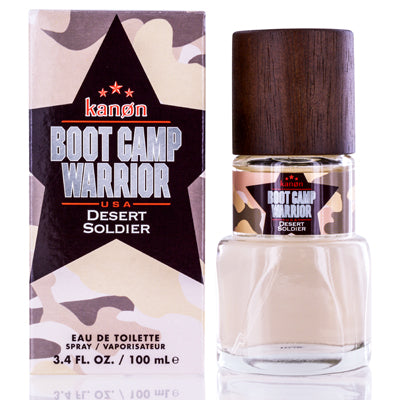 Shop for authentic Bootcamp Warrior Desertsoldier by Kanon Edt Spray 3.3 Oz (100 Ml) For Men at Diaries of Paris