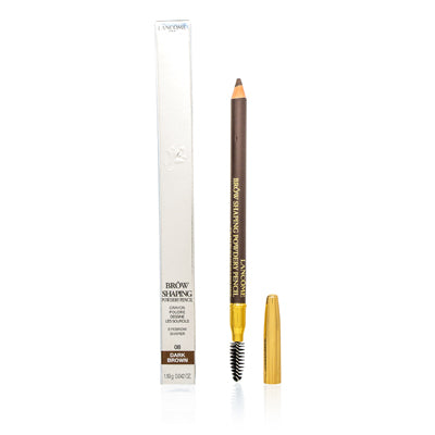 Lancome Brow Shaping Powdery Pencil Dark Brown .03 oz (.085 ml)