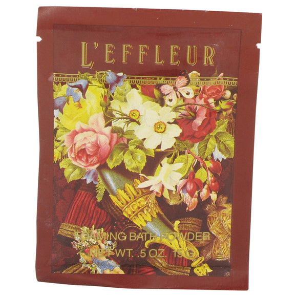 L'effleur Foaming Bath Powder By Coty For Women