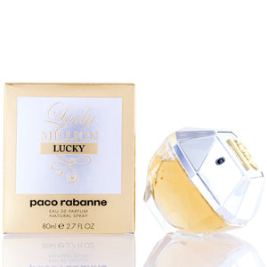 Lady Million Lucky Paco Rabanne Edp Spray 2.7 Oz (80 Ml) For Women