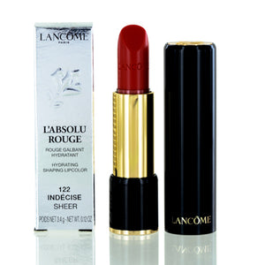 Lancome L'Absolu Rouge Lipstick 122 Indecise (Sheer) 0.14 oz (4 ml)