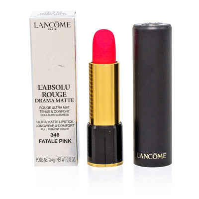 Lancome L'Absolu Rouge Lipstick 346 Fatale Pink 0.14 oz (4  ml)