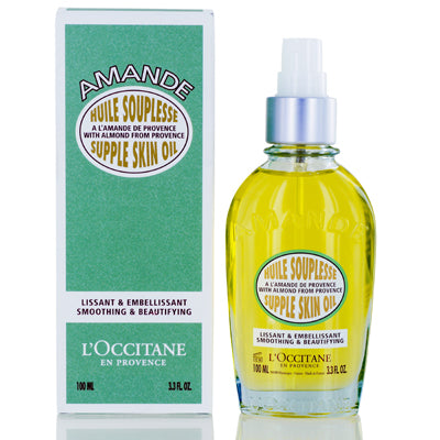 L'Occitane Almond Supple Skin Oil 3.3  oz (100  ml).