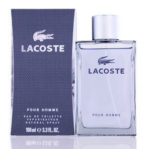 Lacoste Pour Homme by Lacoste Edt Spray (Grey) For Men