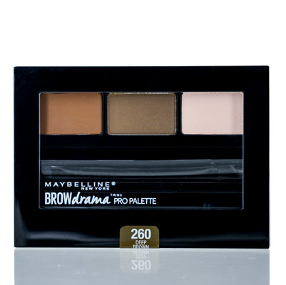 Maybelline Brow Drama Pro Palette Deep Brown .1 Oz (2.8 Ml)