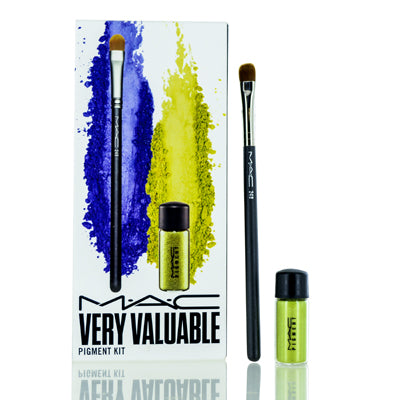 Mac Cosmetics Very Valuable Pigment Kit Chartreuse