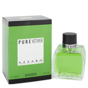 Azzaro Pure Vetiver Eau De Toilette Spray By Azzaro For Men