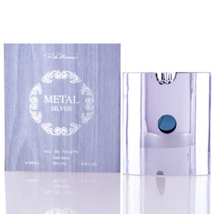 Metal Silver by Ron Marone Edt Spray For Men
