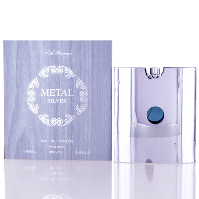 Shop for authentic Metal Silver Ron Marone Edt Spray 3.4 Oz (100 Ml) For Men at Diaries of Paris