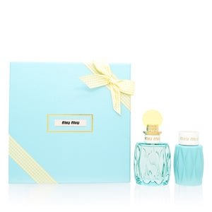 Miu Miu L'Eau Bleue by Miuccia Prada Set For Women