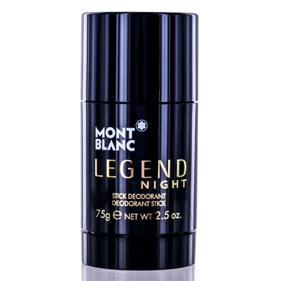Montblanc Legend Night Mont Blanc Deodorant Stick 2.5 Oz (75 Ml) For Men