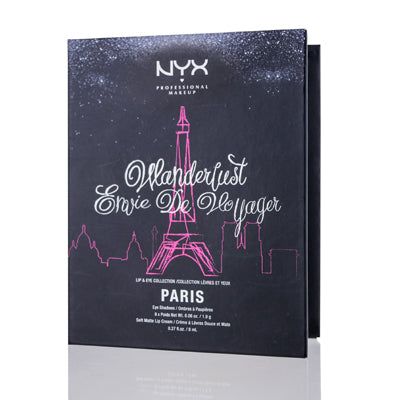 Nyx Wanderlust Lip & Eye Collection Paris