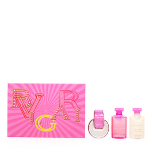 Omnia Pink Sapphire by Bvlgari Set  For Women