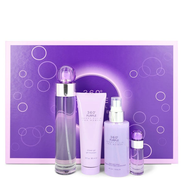 Perry Ellis 360 Purple Gift Set By Perry Ellis For Women
