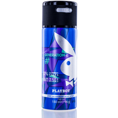 Shop for authentic Playboy Generation Coty Deodorant & Body Spray 5.0 Oz (150 Ml)  For Men at Diaries of Paris