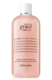Amazing Grace Ballet Rose by Philosophy Shampoo Bath & Shower Gel Unisex For Men and For Women 8 oz