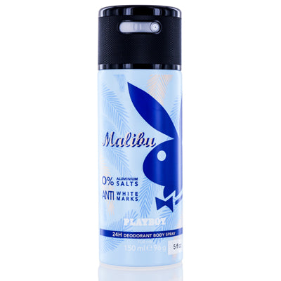 Playboy Malibu Coty Deodorant & Body Spray 5.0 Oz (150 Ml) For Men