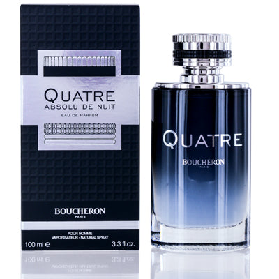 Quatre Absolu De Nuit by Boucheron Edp Spray For Men