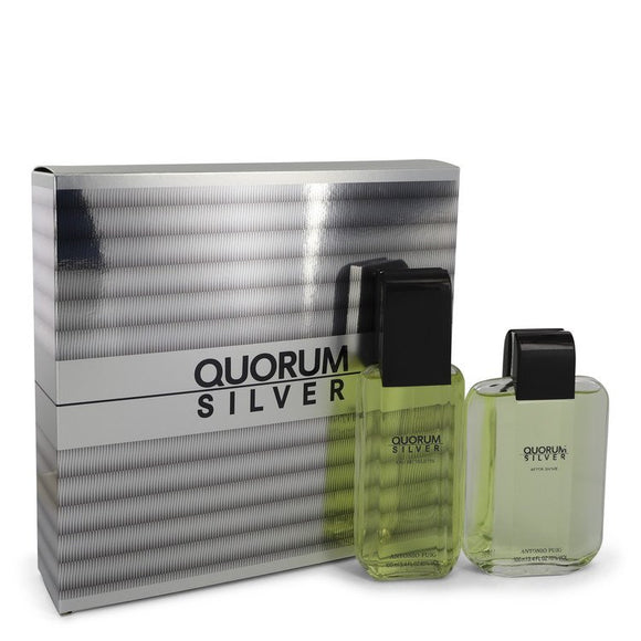 Quorum Silver Gift Set By Puig For Men