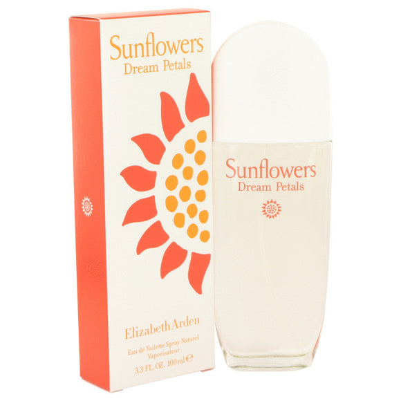 Sunflowers Dream Petals Eau De Toilette Spray By Elizabeth Arden For Women