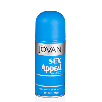 Sex Appeal Jovan Deodorant Spray 5.0 Oz (150 Ml) For Men