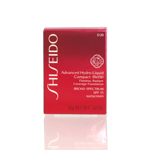 Shiseido Advanced Hydro Liquid Compact Foundation Refill (D20) 0.42 Oz (12 Ml)