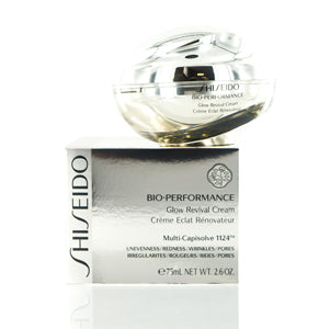 Shiseido Bio-Performance Glow Revival Cream 2.6  oz (75  ml).