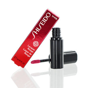 Shiseido Lacquer Rouge Lipstick Liquid (Vi418) 0.2 Oz (6 Ml)