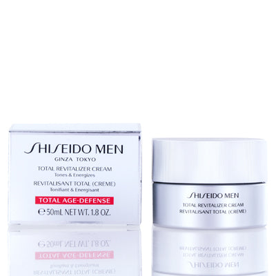 Shiseido Total Revitalizer Men Cream 1.8  oz (50  ml).