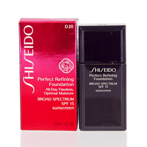 Shiseido Perfect Refining  Foundation Spf 15 (D 20) 1.0 Oz (30 Ml)